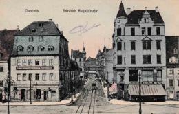 Chemnitz Friedrich August Strasse Tram - Chemnitz
