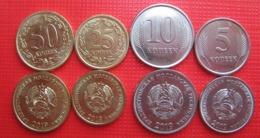 Transnistria - Set 4 Coins 5 10 25 50 Kopecks 2019 UNC Magnetic Lemberg-Zp - Moldavia