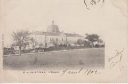 CPA Précurseur Saint-Clar - L'hospice - France