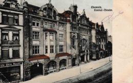 Chemnitz Central Theater Couleur 1911 - Chemnitz