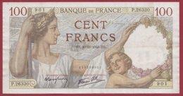"""100 Francs """"Sully"""" Du 04/12/1941.TB --F/TTB+---ALPH.P.26330--AUCUN TROU D EPINGLE - 1871-1952 Anciens Francs Circulés Au XXème"""