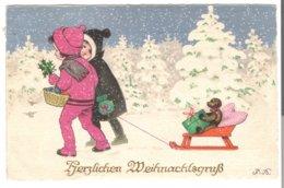 Herzlichen Weihnachtsgruß  - Von 1924 (3715) - Weihnachten