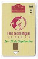 Spain - Telefónica - Feria San Miguel - P-508 - 05.2002, 5.400ex, NSB - Privé-uitgaven