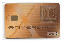 Spain - Telefónica - X Aniv. Club Cabitel - P-523 - 12.2002, 5.000ex, NSB - España