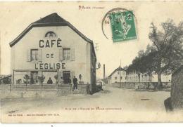Fraize Rue De L Eglise Et Ecole Communale - Fraize