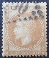 DF50478/629 - NAPOLEON III Lauré N°28A (petit Pelurage) - LGC - 1863-1870 Napoléon III. Laure