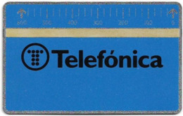 Spain - Telefónica (L&G Optical), Series 6a - Canarias, 711B - 600PTA - B-011 - 11.1987, Mint - Basisausgaben