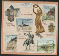 """BF 64 """"CAPITALES EUROPEENNES / LUXEMBOURG"""". Neuf Sans Charnière **. TB - Mint/Hinged"""