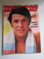 MOINS 20 Numéro 30 - Novembre 1967 ADAMO HUGUES AUFRAY MIREILLE MATHIEU NICOLETTA POLNAREFF LOLITA JAMES BOND VARTAN - Muziek
