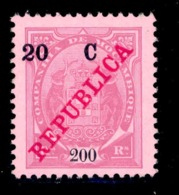 ! ! Mozambique Company - 1916 Elephants Coat Of Arms 20 C - Af. 103 - MH - Mozambique