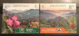 Croatia, 2019, National Parks - Joint Issue With South Korea (MNH) - Croacia