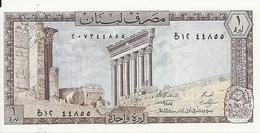 LIBAN 1 LIVRE 1964-80 UNC P 61 C - Libanon