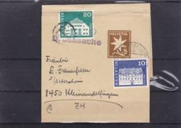 Streifband: 1948, N°.52. Mit  Zu:415+413 / Mi:881+879. Nachporto, Drucksache. An Fabrik Landis & Gyr In Zug - Stamped Stationery