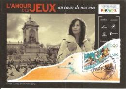 2005  Candidature De Paris Aux Jeux Olympiques 2012 :Laura Flessel (escrime) - Summer 2012: London