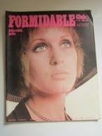 FORMIDABLE Numéro 32 - Mai 1968 JULIE DRISCOLL KARIN MEIER NALLET MICHEL FUGAIN DUTRONC KENNEDY REGGIANI ... - Music