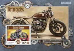 Sierra Leone 2015. [srl15214] Motorcycles (s\s+block) - Moto
