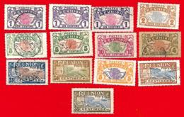 4319  --  REUNION - Lot De Timbres  N°  1907 + 1922 Oblitérés - La Réunion
