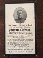 Sterbebild Wk1 Bidprentje Avis Décès Deathcard IR12 Januar 1915 Aus Neukirchen - 1914-18
