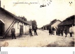 18. Cher :  Camp D ' Avord : Rue Du Poste . - Avord