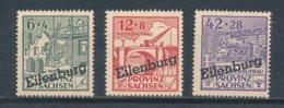 Deutsche Lokalausgaben Eilenburg I - III A ** Mi. 20,- - Deutschland