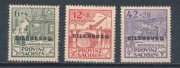 Deutsche Lokalausgaben Eilenburg IV - VI A ** Mi. 20,- - Deutschland