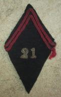 Losange De Bras Precoce Liberation-21° R.I.A.P ,Poche De Saint Nazaire 1945 - 1939-45