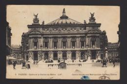 17564 Parigi - Opéra Et La Station Du Métro R - Pariser Métro, Bahnhöfe