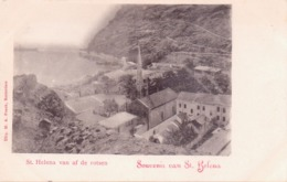 Seltene ALTE  AK  ST. HELENA  - Teilansicht - Ca. 1900 Gedruckt - Saint Helena Island