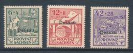 Deutsche Lokalausgaben Dessau I - III A ** Mi. 15,- - Deutschland