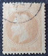 DF50478/635 - NAPOLEON III Lauré N°28B - CàD - 1863-1870 Napoléon III. Laure