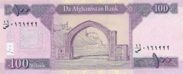 AFGHANISTAN P. 75d 100 A 2016 UNC - Afghanistan