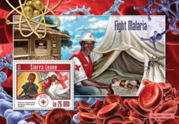Sierra Leone 2015. [srl15211] Medicine, Malaria (s\s+block) - Krankheiten