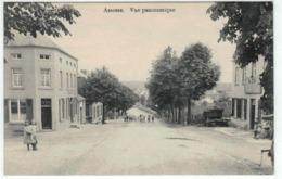 Assesse - Vue Panoramique - Animée - Belle Carte - Assesse