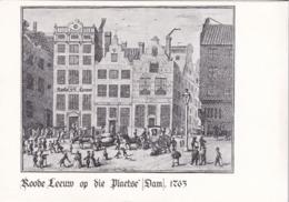 Hotel, Reestaurnt De Roode Leeuw Amsterdam Van VO'O' R 1511 - Merry Christmas - Amsterdam