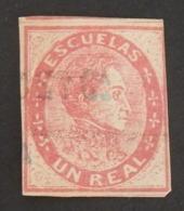 VENEZUELA FISCAUX POSTAUX YT 6 OBLITÉRÉ ANNÉES 1871 - Venezuela