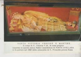 Serra Sant'Abbondio Fonte Avellana Pesaro Santa Vittoria Vergine - Pesaro