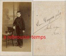 CDV Second Empire--collégien-photo Dame Cayon à La Roche Sur Yon En Vendée - Photos