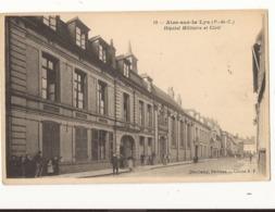 Pas De Calais Aire Sur La Lys Hôpital Militaire Et Civil - Aire Sur La Lys