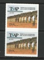 2019 ITALIA - 100° Tribunale Superiore Delle Acque Pubbliche - COPPIA - Adesivi - 2011-...:  Nuevos