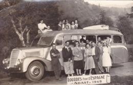 CARTE POSTALE ANCIENNE 65 HAUTES PYRENEES LOURDES PONT D ESPAGNE  EDITIONS / CARTE PHOTO - Lourdes