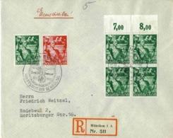 DR Mi-Nr 660+661  /MachtErgreifung,  Echt Gelaufener Portogerecht-frankierter Brief Mit MachtErgreifungs-SST - Briefe U. Dokumente