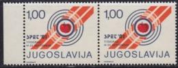 Yugoslavia 1981 European Shooting Championship In Titograd Surcharge, MNH (**) Michel 76 - Impuestos