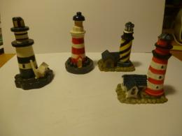 FIGURINES : LOT De 4 PHARES BRETONS - Figurines
