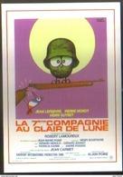 Carte Postale : La 7ème Compagnie Au Clair De Lune (cinéma Affiche Film) Illustration Hervé Morvan - Manifesti Su Carta
