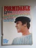 FORMIDABLE Numéro 11-12- AOÛT-SEPT 1966 ADAMO FRANCE GALL GOYA JOHNNY HALLYDAY ANTOINE CLAUDE FRANCOIS VILARD AUFRAY ... - Musique