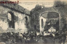 MORFONTAINE EGLISE INCENDIEE PAR LES ALLEMANDS 54 - Francia