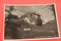 Aosta Breuil Cervinia La Funivia 1947 - Otras Ciudades