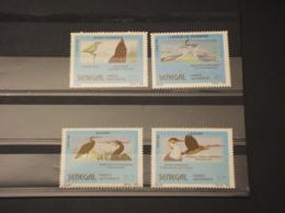 SENEGAL - 1989 UCCELLI  4 VALORI - NUOVI(++) - Senegal (1960-...)