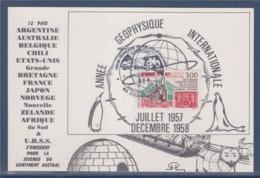 = Continent Austral Année Géophysique Internationale 07.1957-12.1958, Timbre 3004 Union Française De Philatélie Polaire - Other