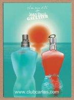 CC Carte Parfumée 'JEAN PAUL GAULTIER' #14 'SUMMER 2009' JPG Perfume Card - Modernes (à Partir De 1961)